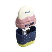 Резинка и точилка Milan Capsule ml.4701116