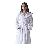 Халат махровый женский с капюшоном Sleeper Set White Bath Robe Халат махровый женский с капюшоном Sleeper Set White Bath Robe