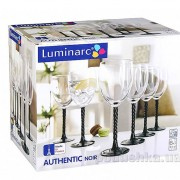 Набор бокалов Luminarc Authentic Black 6х310 мл H5657 - Фото №3