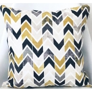 Подушка Lilihome design Yellow Chevron YC101 - Фото №3