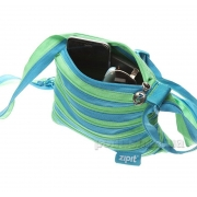 Сумка Zipit Medium Turquise Blue & Spring Green ZBD-15 бірюзовий - Фото №3