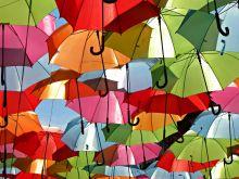 Яркие и удобные зонтики  TM Fare, TM Zest  - отличное настроение в дождливый день!