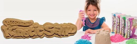 Kinetic Sand -  прекрасная развивающая игрушка для вашего ребенка