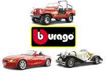 Еще больше автомоделей BBURAGO
