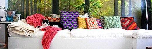 Необыкновенные подушки для детей и взрослых.